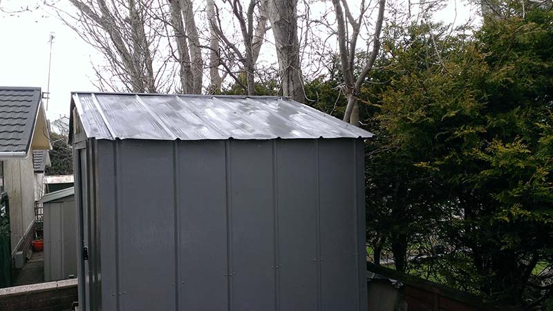 Man About House shed paint